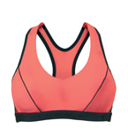 Shock Absorber Pump sports bra top - front view