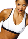 Shock Absorber Pump sports bra top